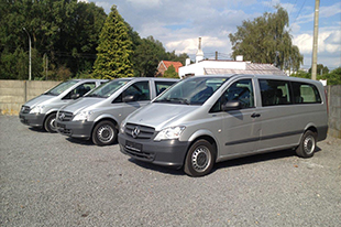 Mercedes Vito Gris 9 places XL
